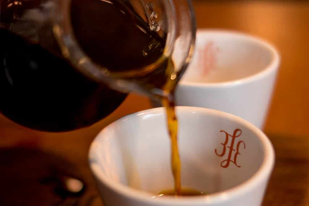 Coffee at 3fe - Where to Eat in Dublin Ireland - A Dublin Food Guide