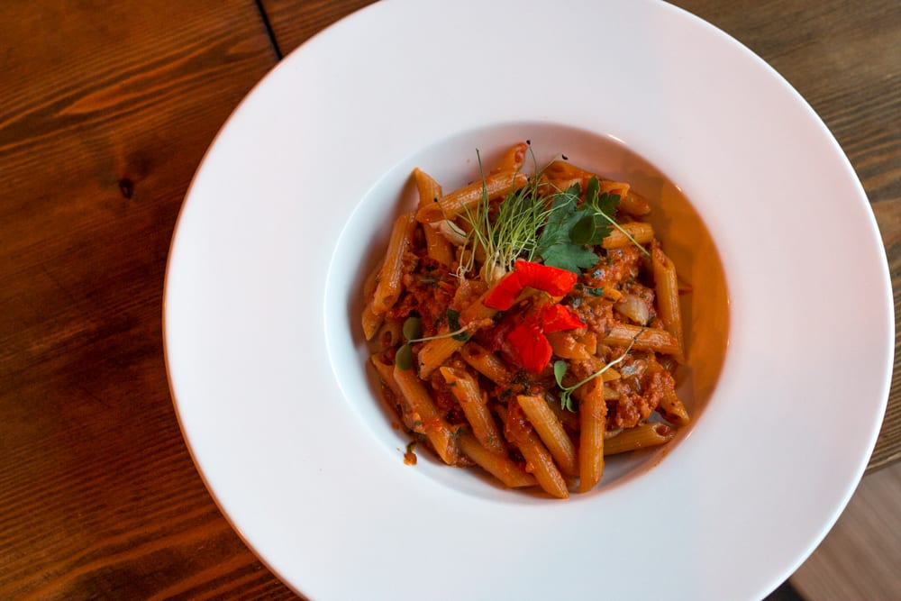 The Penne Da Mimmo is a great taste of Italy on a plate with its fresh Italian sausage and creamy red bell pepper sauce served over perfectly al dente pasta. Where to Eat in Dublin
