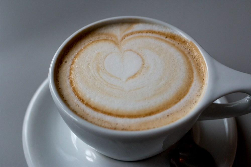Cappuccino at Kaph - Where to Eat in Dublin Ireland - A Dublin Food Guide