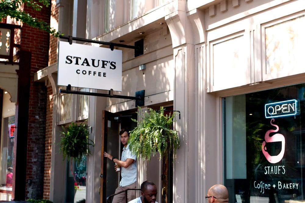 Stauf's Coffee Roasters' German Village location is a neighborhood fixture. Columbus Brew
