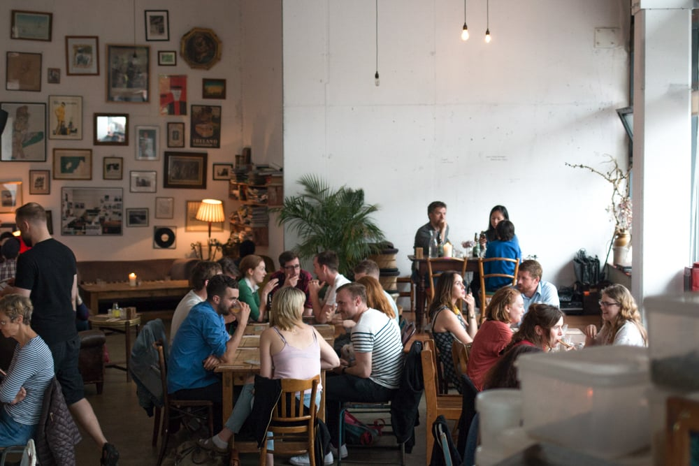 The Fumbally's bright, airy converted factory space is a comfortable spot for a 3fe coffee or an excellent lunch. Where to Eat in Dublin Now