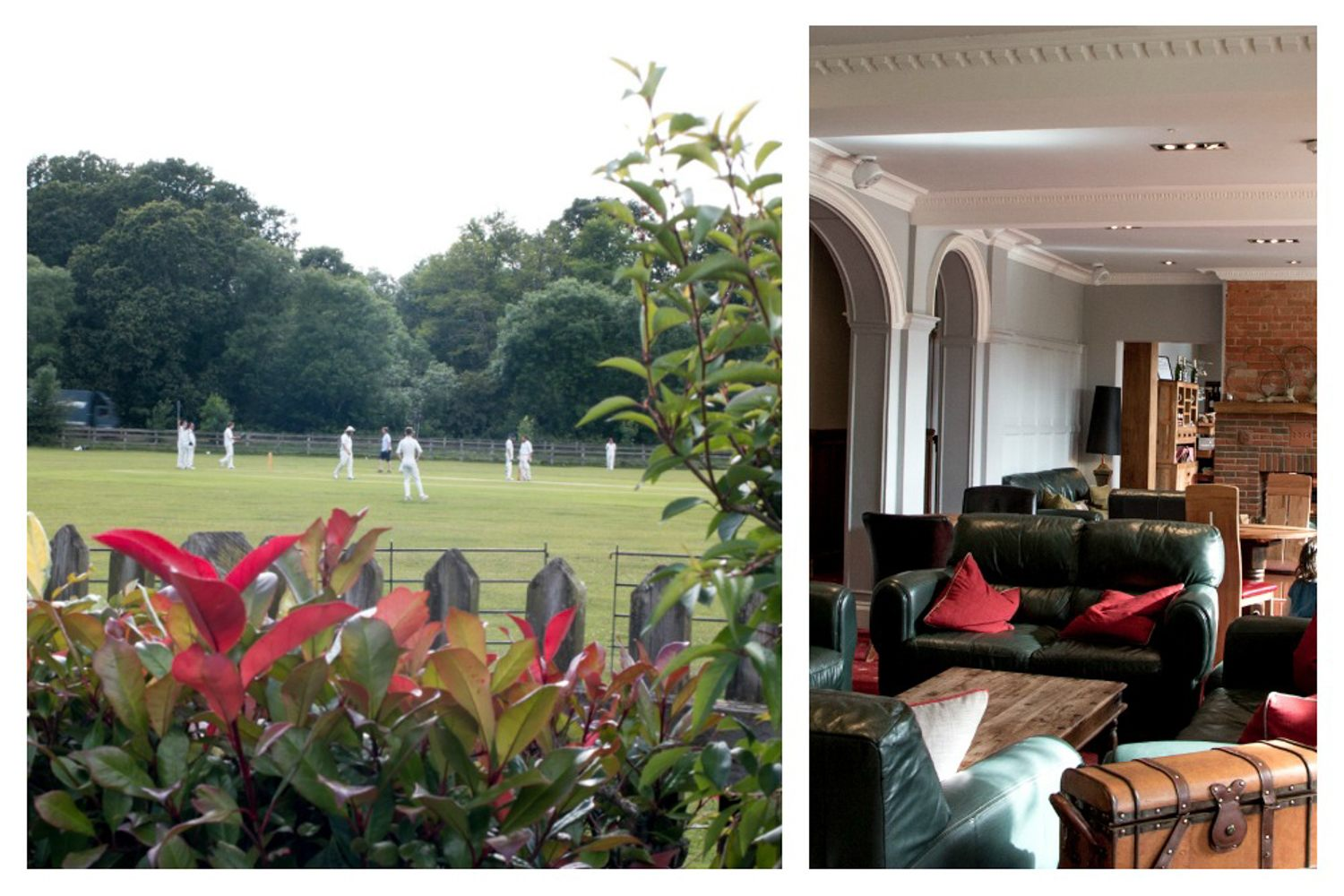 Overlooking a cricket field in the New Forest, historic Balmer Lawn Hotel is now a modern full-service hotel. 5 Great Hotels in South England