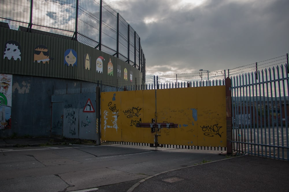 Belfast Peace Wall. We saw this remnant of the Troublesduring our walk around Belfast. 5 fun things to do in belfast