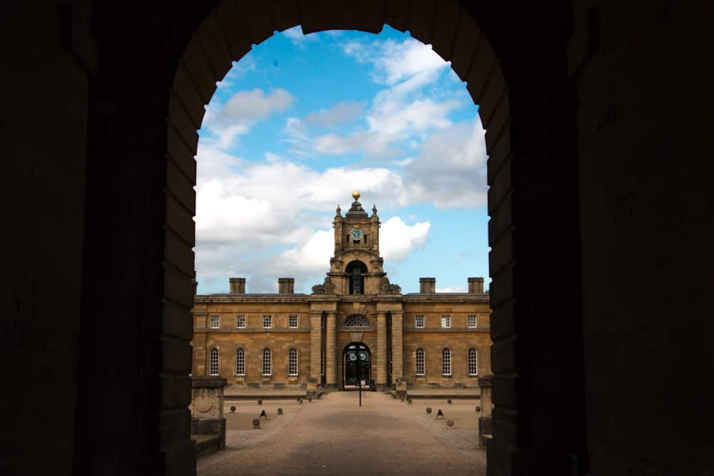 Parting View of Blenheim Palace