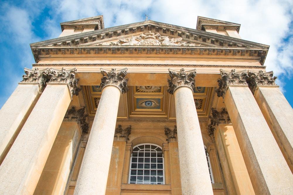 Blenheim Palace Facade