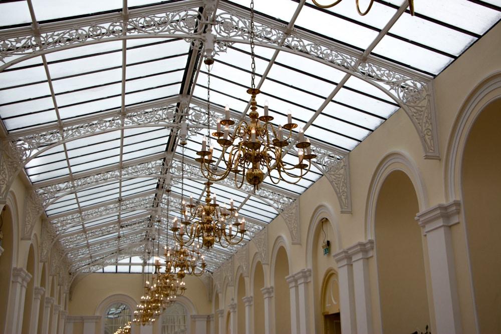 Blenheim Palace's Orangerie Room is an opulent space for afternoon tea. Blenheim Palace Afternoon Tea