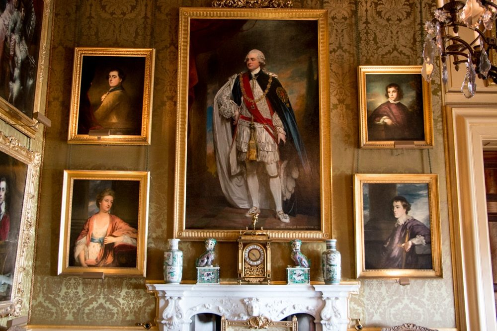 Portraits at Blenheim Palace