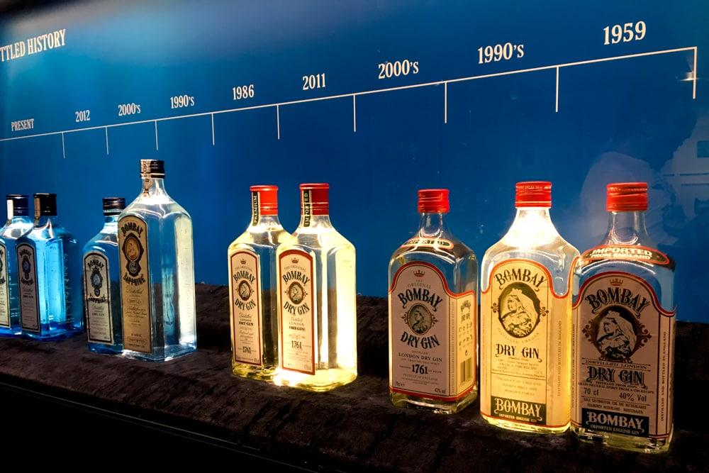 Bombay Sapphire Bottles