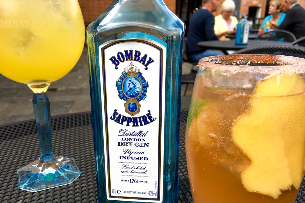 Bombay Sapphire Distillery Tour Cocktails