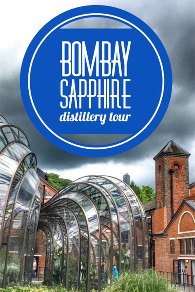 The Bombay Sapphire Distillery Tour provides a fascinating peek behinds the scenes at Bombay Sapphire and ends with cocktails.