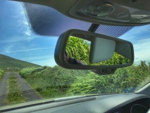 Car View of Ireland Road Trip