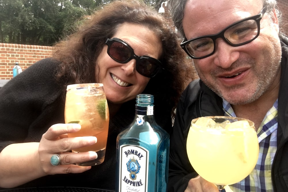 Cheers to the Bombay Sapphire Distillery Tour