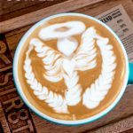 Pinterest image: image of coffee with caption Chiang Mai Coffee'