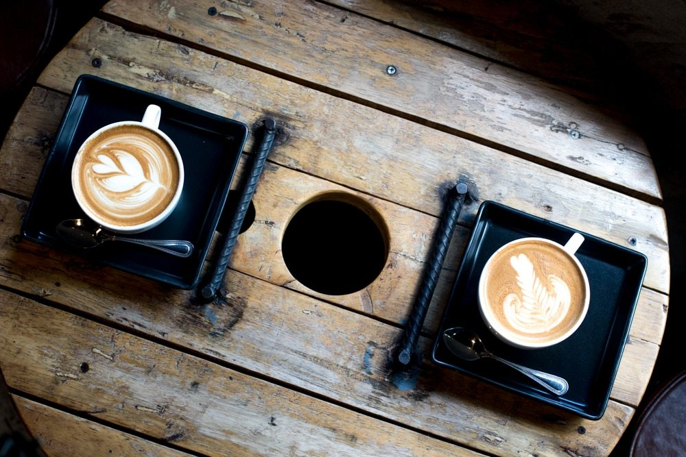 Cappuccinos at Akha Ama - What to Eat in Chiang Mai Thailand - A Chiang Mai Food Guide