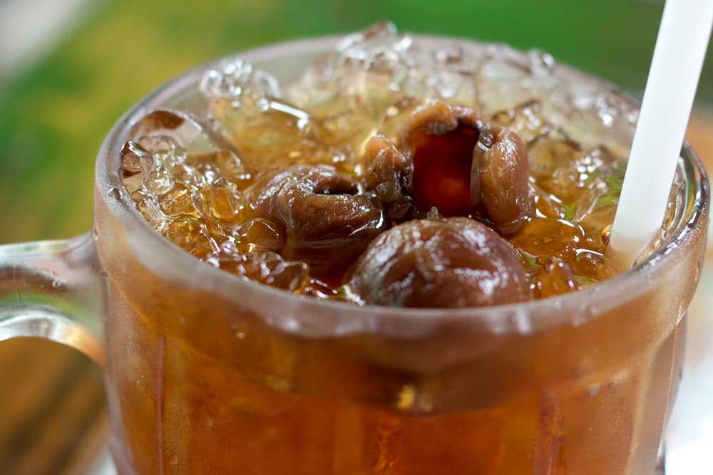 Longan Juice - What to Eat in Chiang Mai Thailand - A Chiang Mai Food Guide