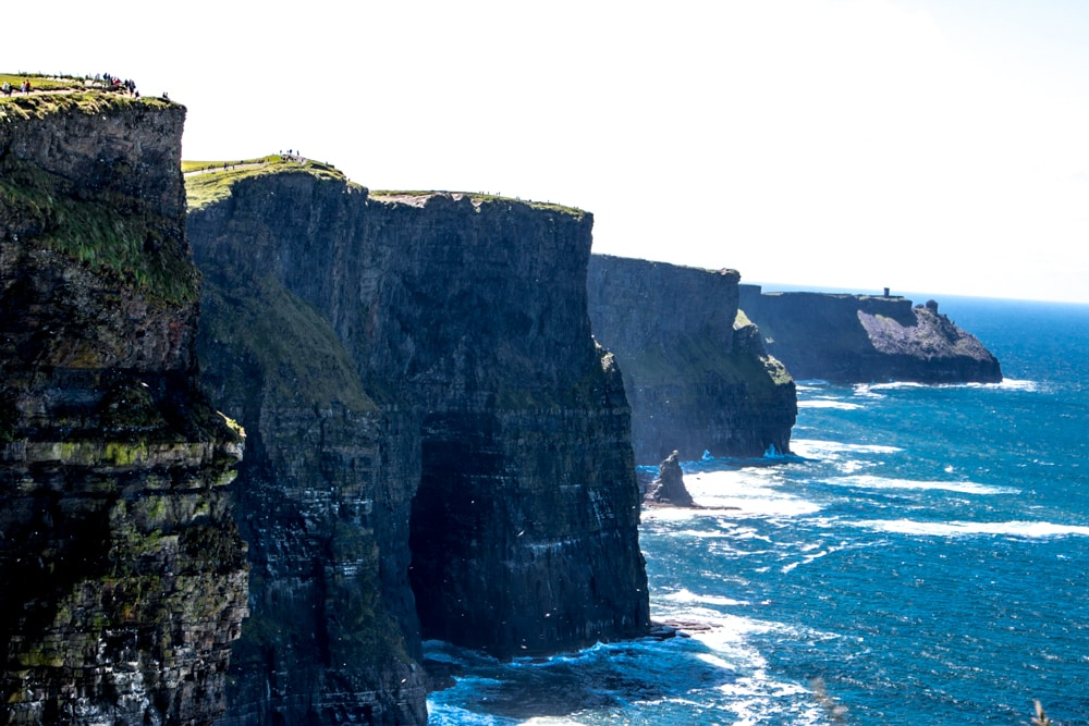 Epic is an oft overused word. However, there is no better word to describe the Cliffs of Moher. Ireland Road Trip