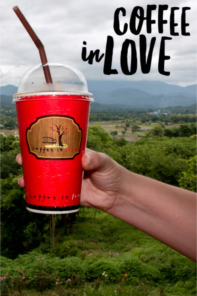 Join us on our visit to the popular cafe Coffee in Love in Pai, Thailand for coffee with a view.