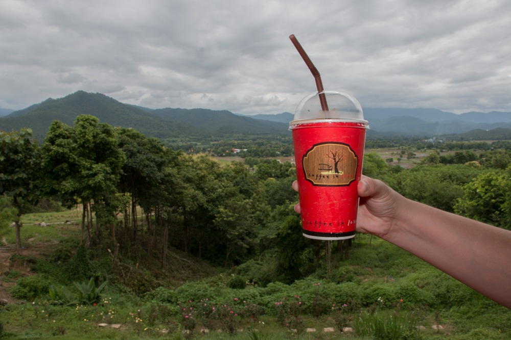 Coffee with a View in Pai Thailand