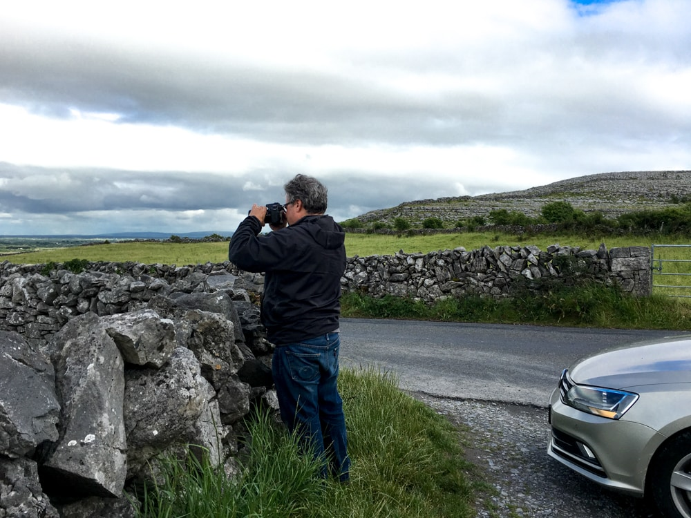 Ireland is filled with so much beauty, and we have the photos to prove it. This is just one of many times when Daryl pulled over to take a photo. Ireland Road Trip