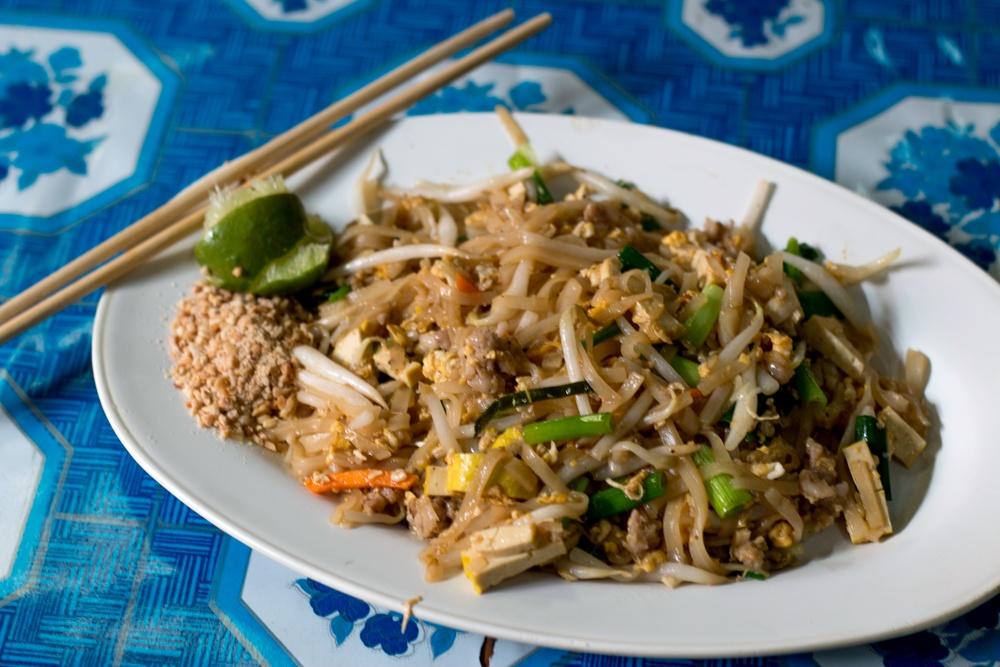 Delicious Thai Food Pad Thai Aroy Dee Chiang Mai