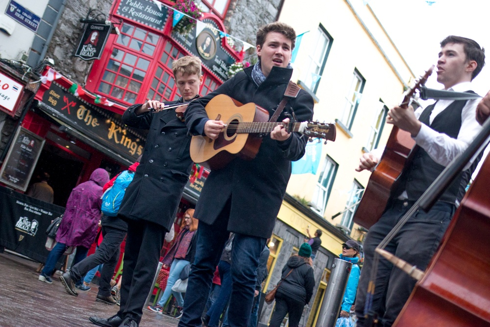Galway is an Irish city filledwith pubs and culture. Ireland Road Trip
