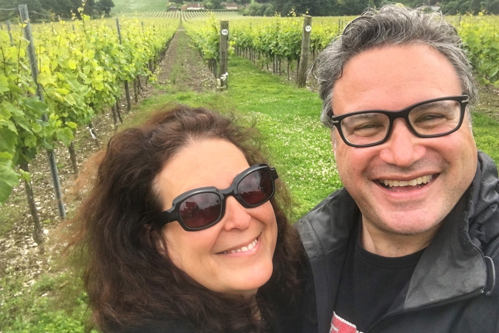 2foodtrippers at Hambledon Vineyard
