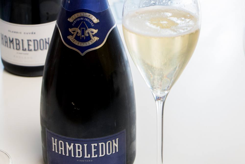 Premiere Cuvee at Hambledon Vineyard