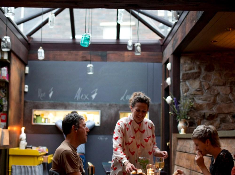 Dining Room at Kai Café - Culinary Road Trip Western Ireland