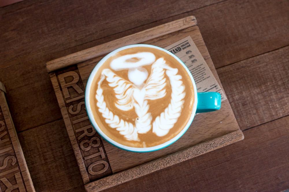 Ristr8to Lab Cappuccino Chiang Mai Coffee