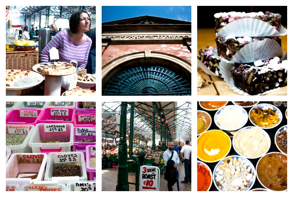 Saturday Scenes at the St. George's Market in Belfast. Belfast Food Guide. Where to eat in Belfast
