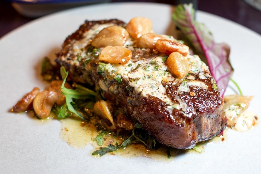Brady's Strip Steak at Kai Restaurant in Galway Ireland
