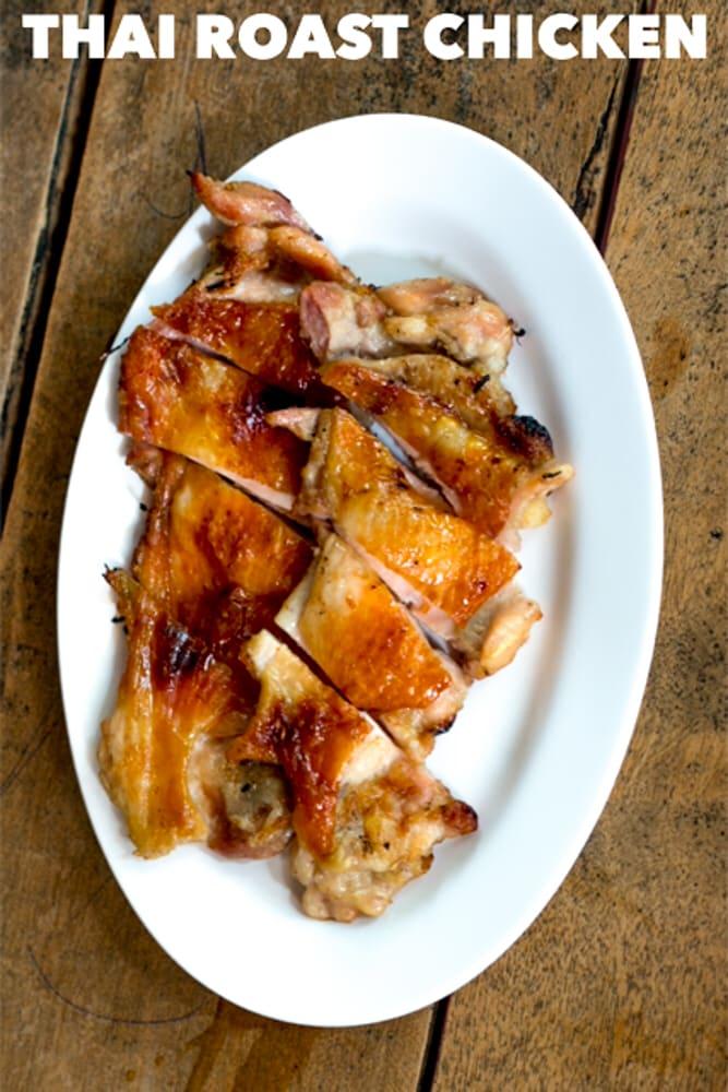 Thai Roast Chicken Pin Chiang Mai Thailand Cherng Doi