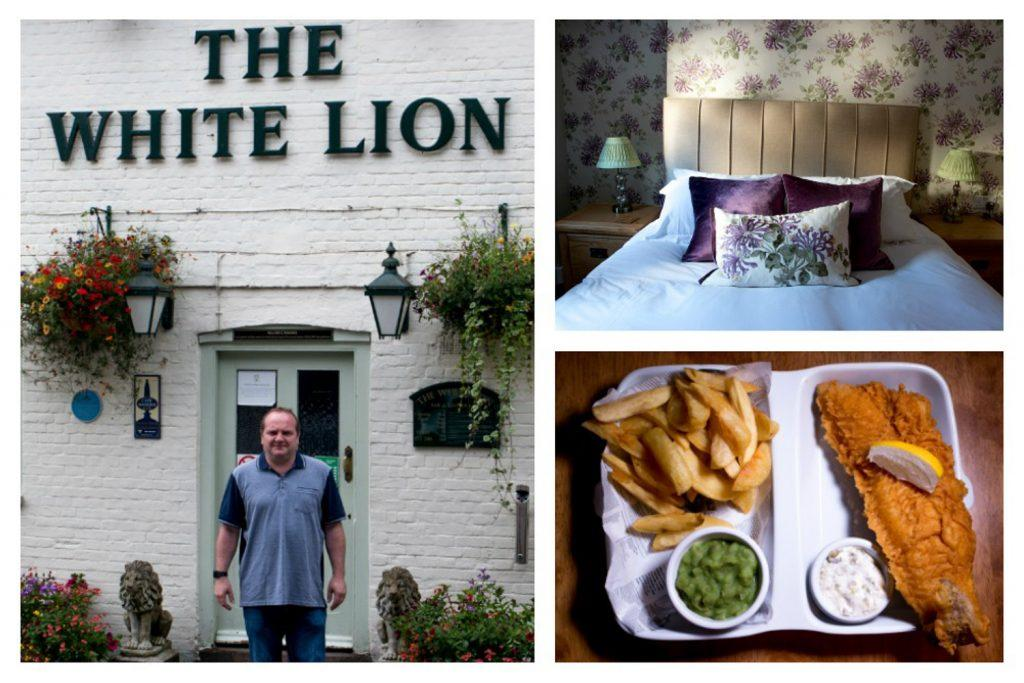The White Lion Collage