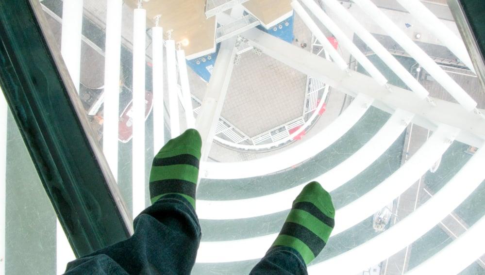 Visit Portsmouth Emirates Spinnaker Tower Glass Sky Walk