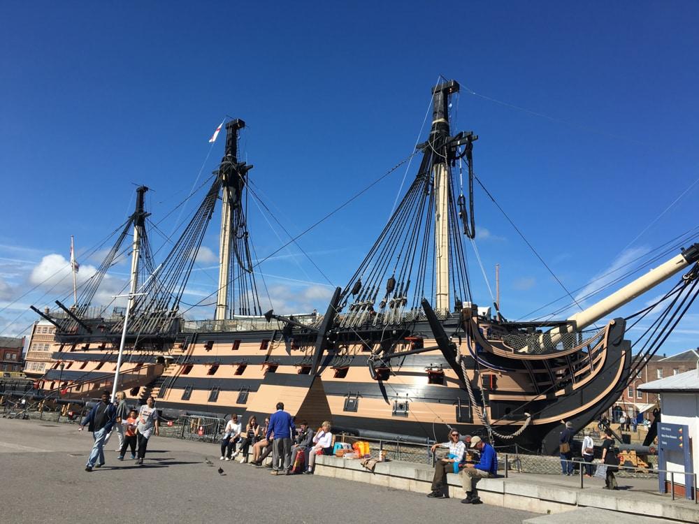 Visit Portsmouth HMS Victory
