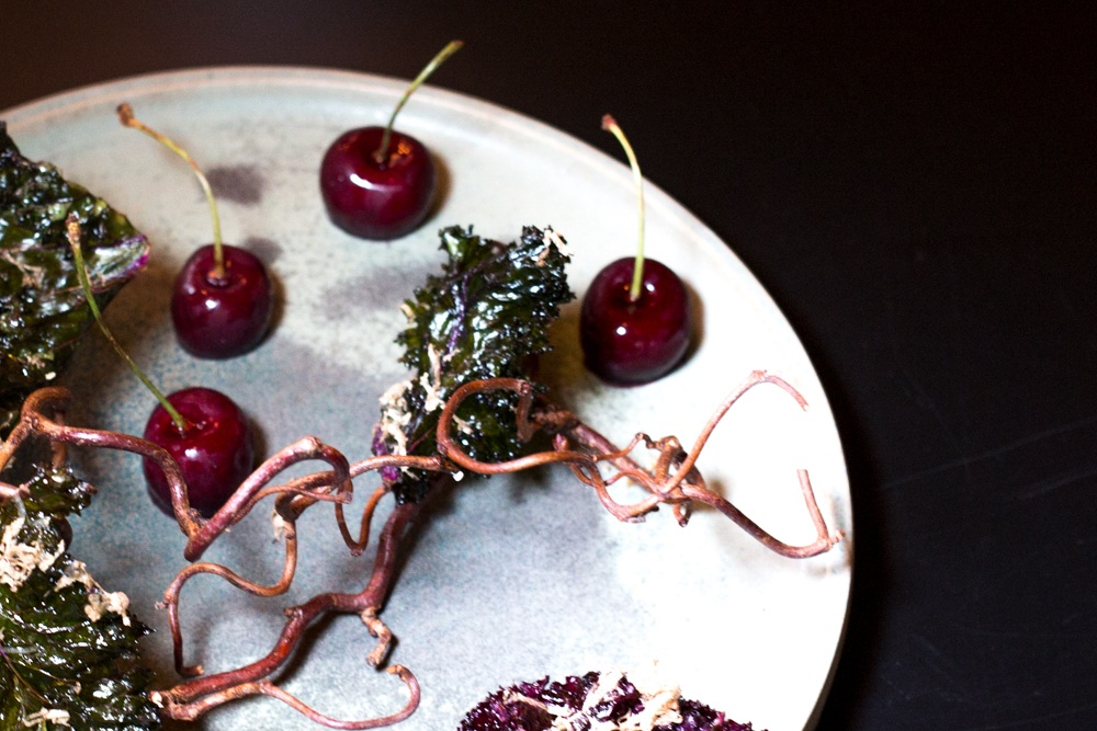 Cherries Stuffed with Foie Gras in Southern Sweden