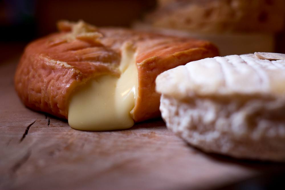 French Cheese in Southern Sweden