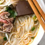 Pinterest image: image of Bun Bo Hue with no caption
