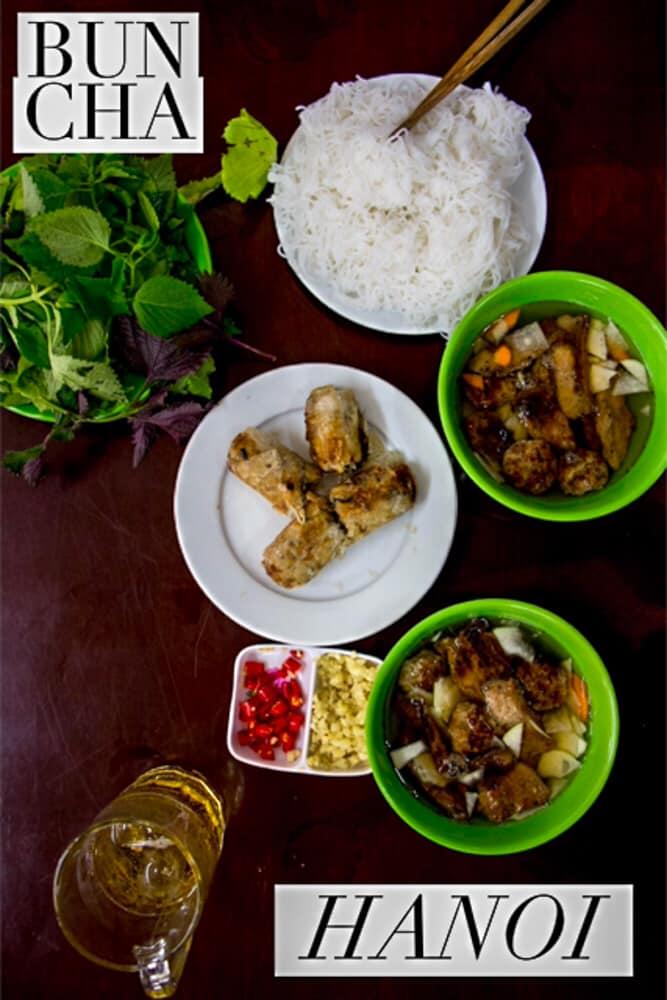Bun Cha | Bun Cha Hanoi | Bun Cha Ha Noi | Hanoi | Vietnam | Hanoi Vietnam | Vietnamese Food | Noodles | #Hanoi #Vietnam #BunCha