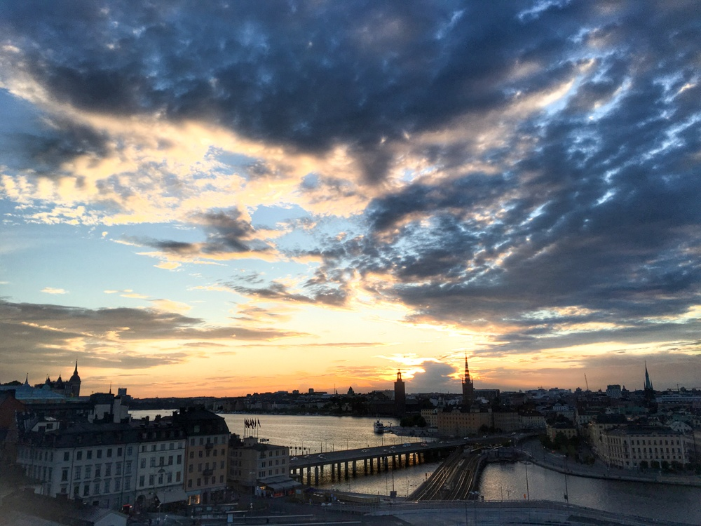 Stockholm Sunset. Why We Want to Plan Another Stockholm Trip