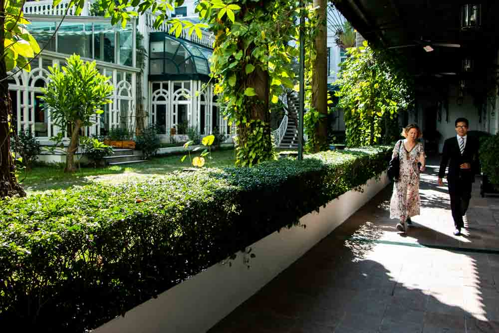 Garden at Sofitel Legend Metropole Hanoi