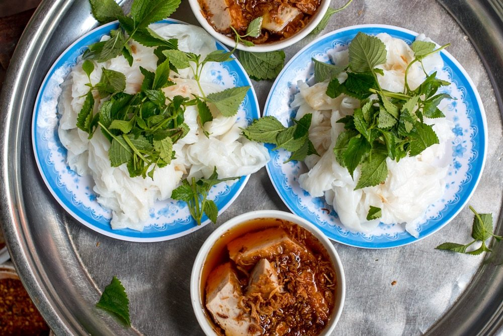 Banh Cuon may not be popular outside of Vietnam, but hopefully that will change. We loved it! What to Eat in Hanoi - A Hanoi Food Guide