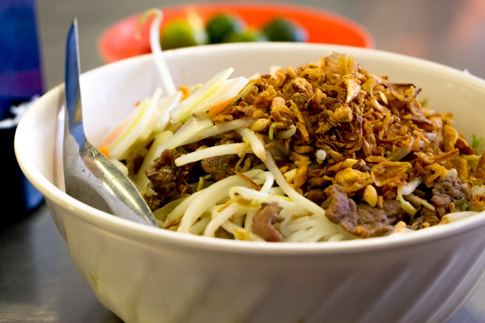 Bun Bo Nam Bo may not have been created in Hanoi, but the city serves up a mighty fine version of this dish. What to Eat in Hanoi - A Hanoi Food Guide