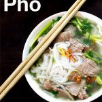 Pinterest image: image of Pho with caption reading 'Hanoi Pho'
