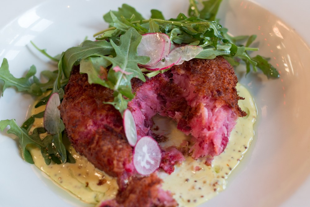 Sharing small plates is fun at The Crown. top 3 reasons to visit hastings