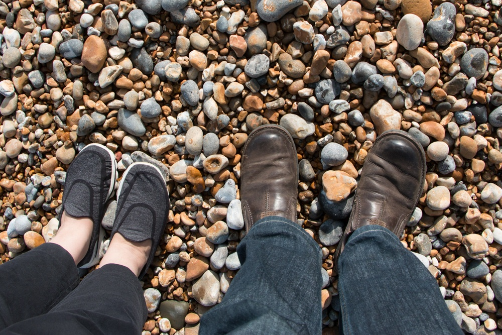 We enjoyed walking along the Hastings waterfront. Unlike the sandy beaches in North America, this beach is topped with a mixture of sand, shingle and pebbles. Top 3 reasons to visit hastings