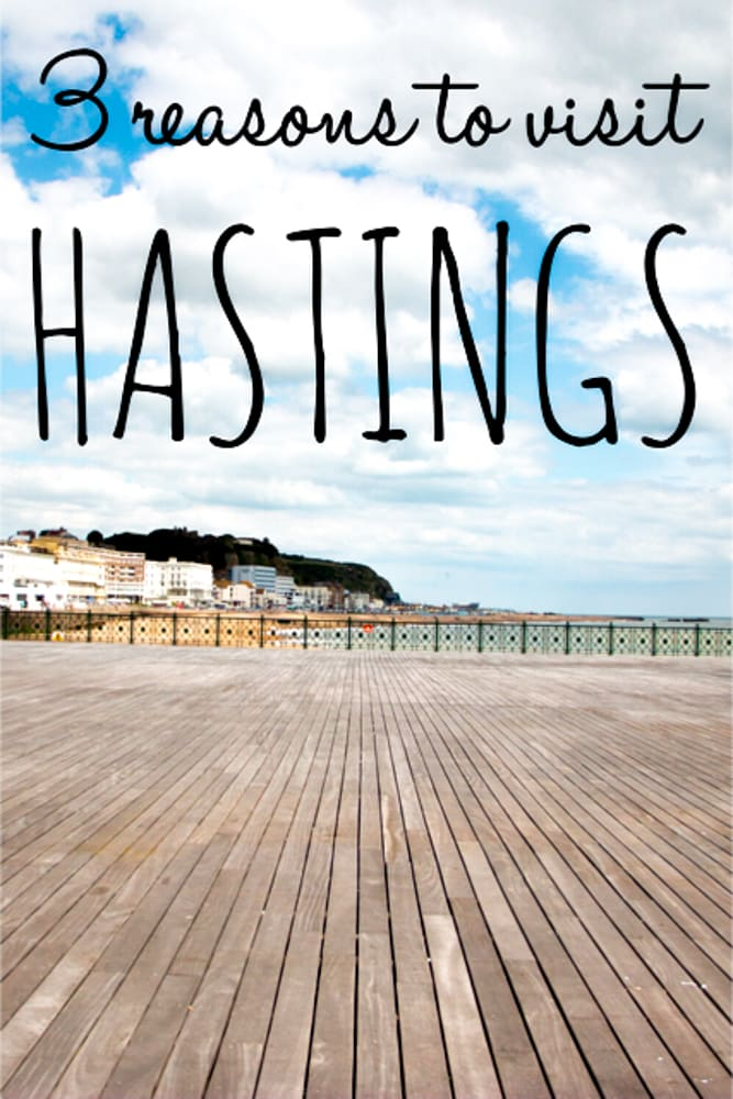 Hastings oozes with history and culture, but our top three reasons to visit Hastings are the waterfront, fresh fish and food.