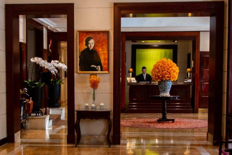 Metropole Lobby at Sofitel Legend Metropole Hanoi