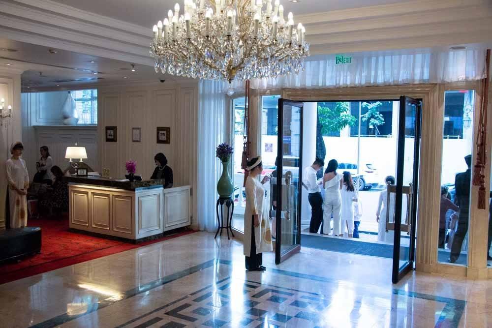 Opera Lobby at Sofitel Legend Metropole Hanoi