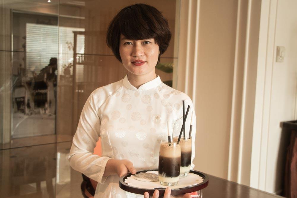 Vietnamese Coffee at Sofitel Legend Metropole Hanoi
